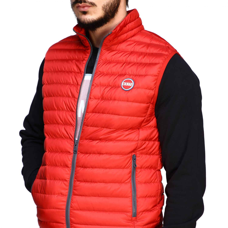 Jacket Colmar: Colmar 100 grams vest down jacket red 5