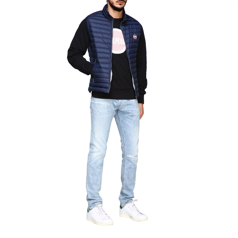 Colmar 100 grams vest down jacket navy 2