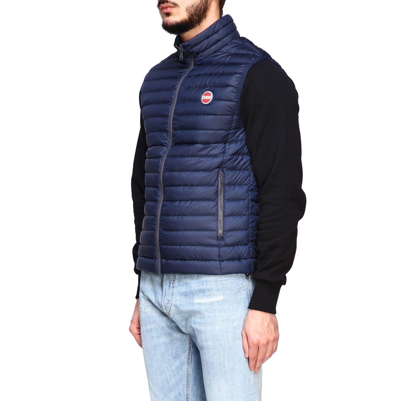 Colmar 100 grams vest down jacket navy 4