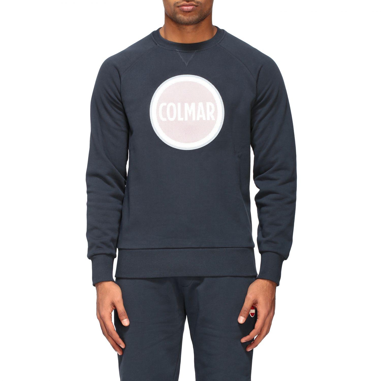 Sweatshirt homme Colmar bleu marine 1