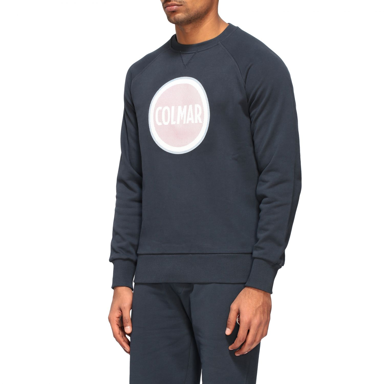 Sweatshirt homme Colmar bleu marine 4
