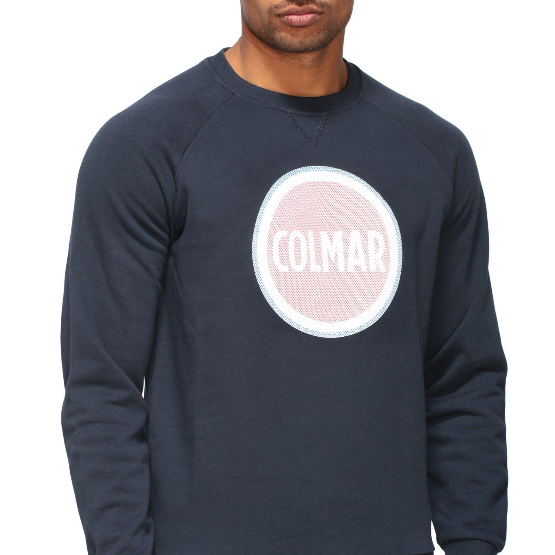 Sweatshirt homme Colmar bleu marine 5