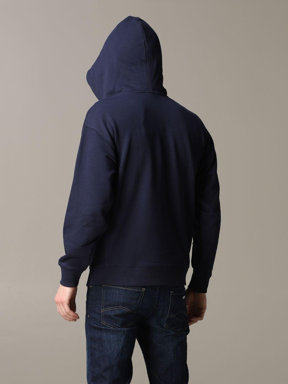 卫衣 男士 Lacoste L!ve 蓝色 3