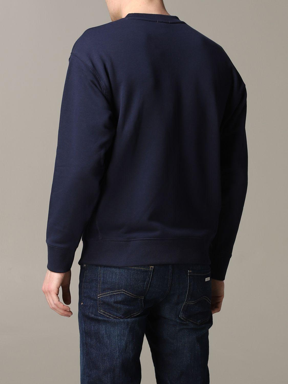 Sudadera hombre Lacoste L!ve azul oscuro 3