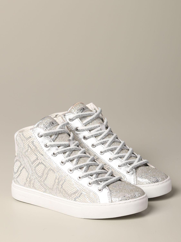 Sneakers Crime London: Shoes women Crime London silver 2