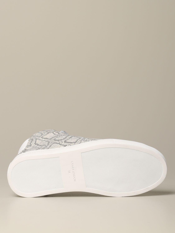 Sneakers Crime London: Shoes women Crime London silver 7