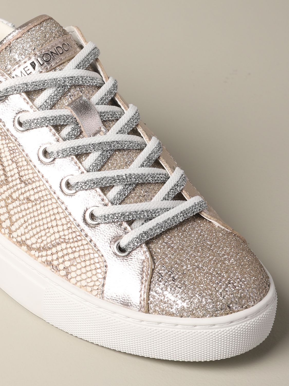 Sneakers Crime London: Shoes women Crime London pink 4