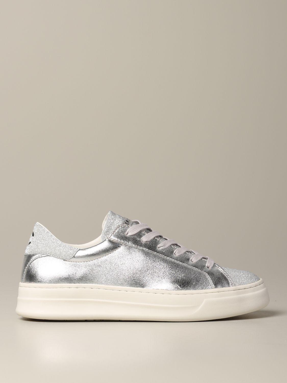 Sneakers Crime London: Shoes women Crime London silver 1
