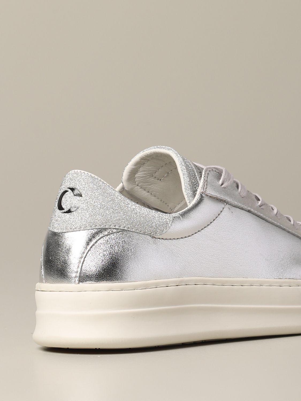 Sneakers Crime London: Shoes women Crime London silver 5