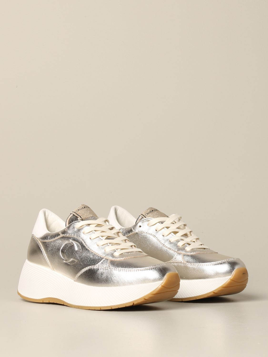 Sneakers Crime London: Shoes women Crime London gold 2