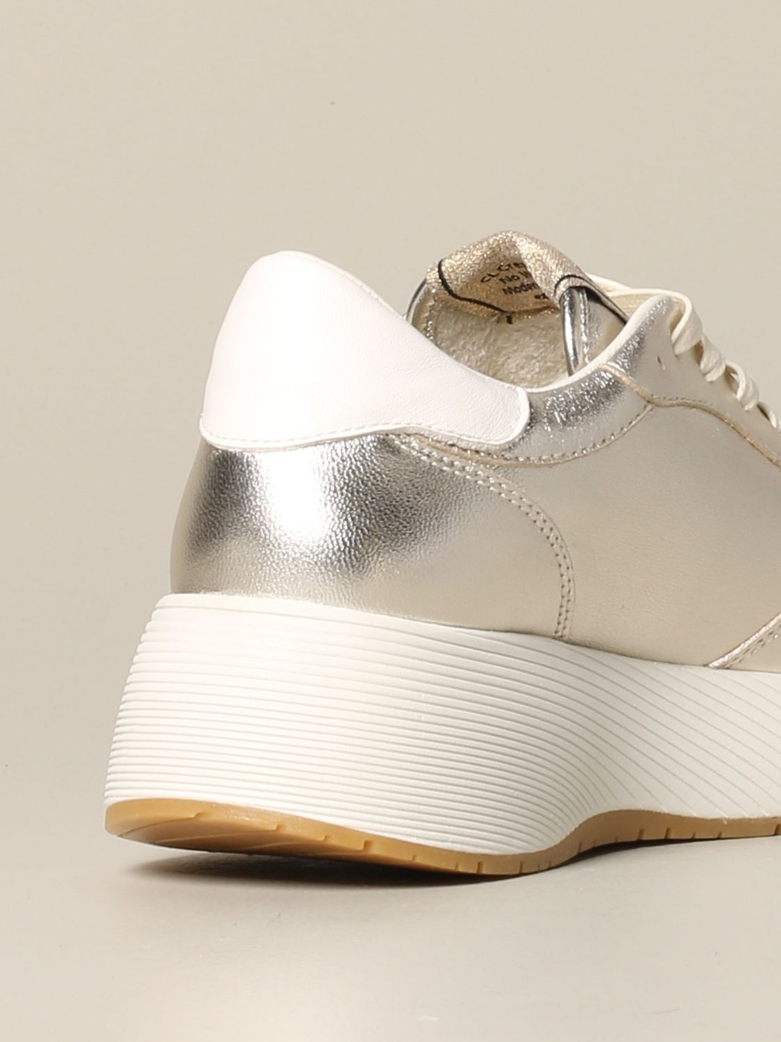 Sneakers Crime London: Shoes women Crime London gold 5