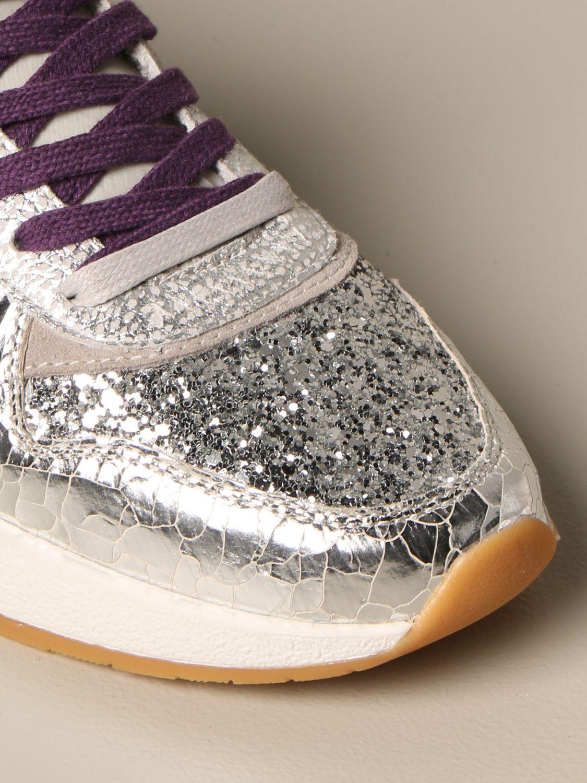 Sneakers Crime London: Shoes women Crime London silver 4
