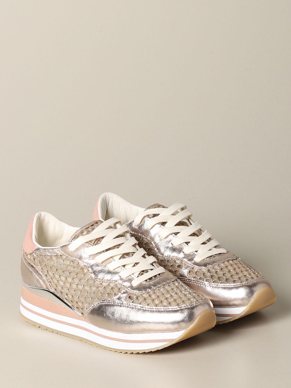 Sneakers Crime London: Shoes women Crime London gold 2
