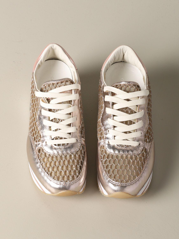 Sneakers Crime London: Shoes women Crime London gold 3