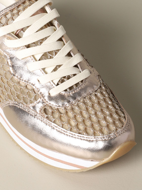 Sneakers Crime London: Shoes women Crime London gold 4