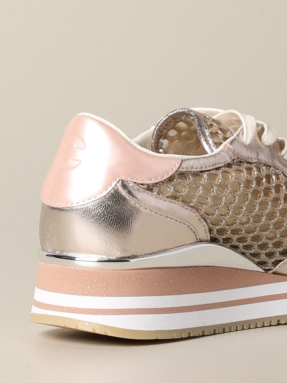 Sneakers Crime London: Shoes women Crime London gold 5