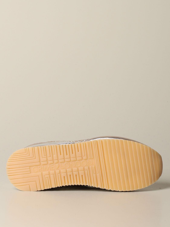 Sneakers Crime London: Shoes women Crime London gold 6