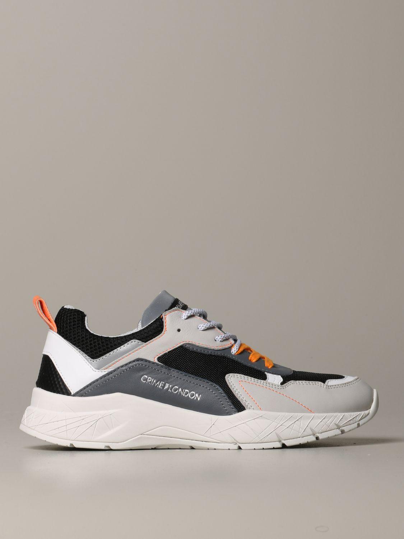 Sneakers Crime London: Schuhe herren Crime London grau 1