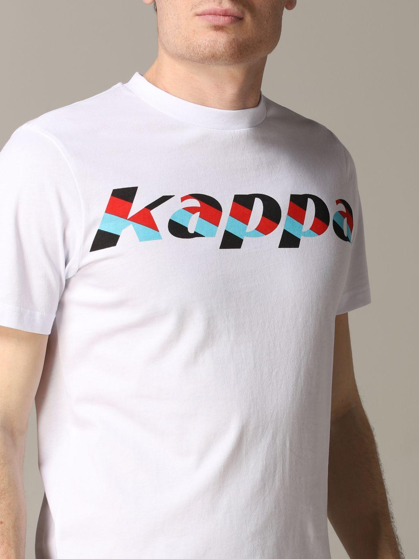 Kappa T-Shirt Uomo S Bianco//Nero 304iru0 Disney Autunno Inverno 2019//20