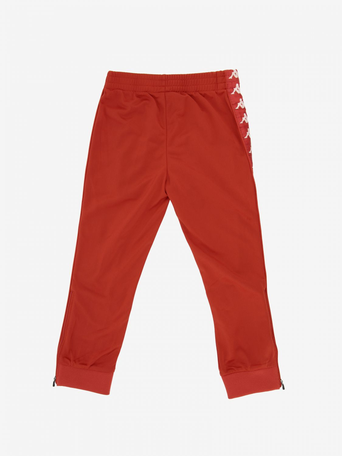 Kappa jogging trousers with logo red 2