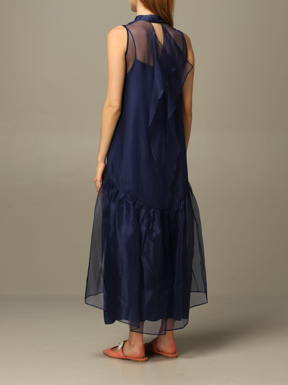 Abito European Culture: Abito European Culture lungo in tulle blue 2