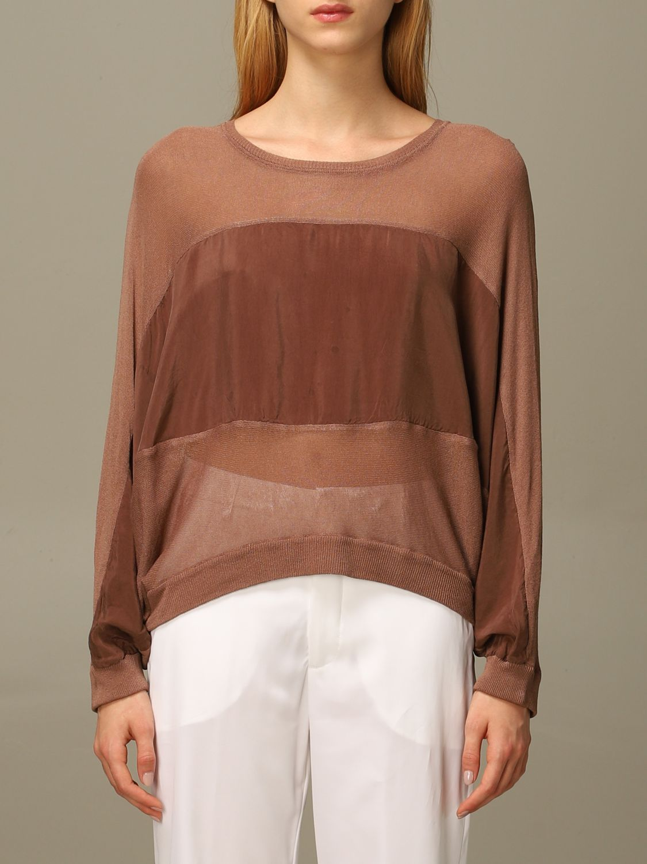 Pullover European Culture: Pullover damen European Culture gold 1