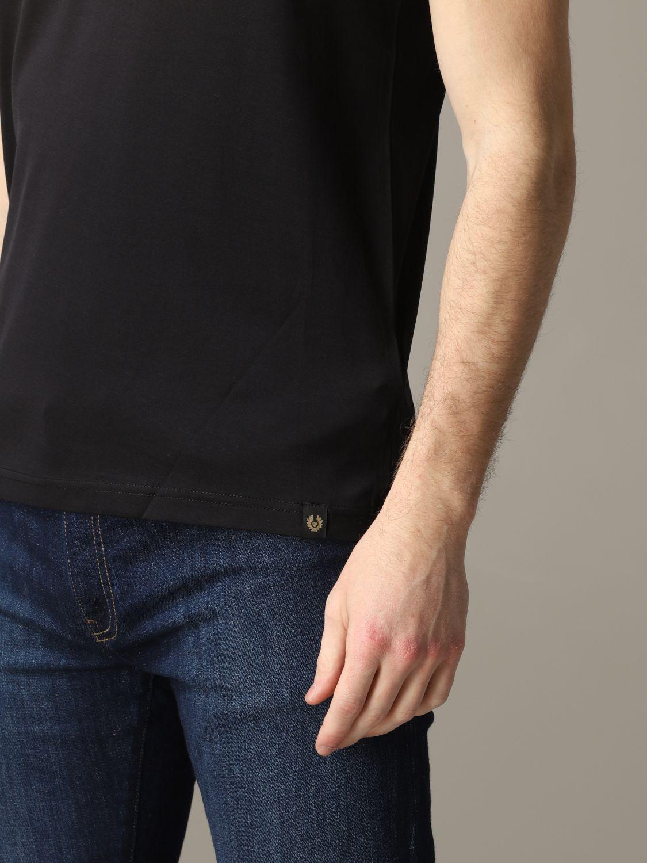T-shirt homme Belstaff noir 5