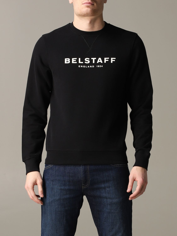 Sudadera hombre Belstaff negro 1