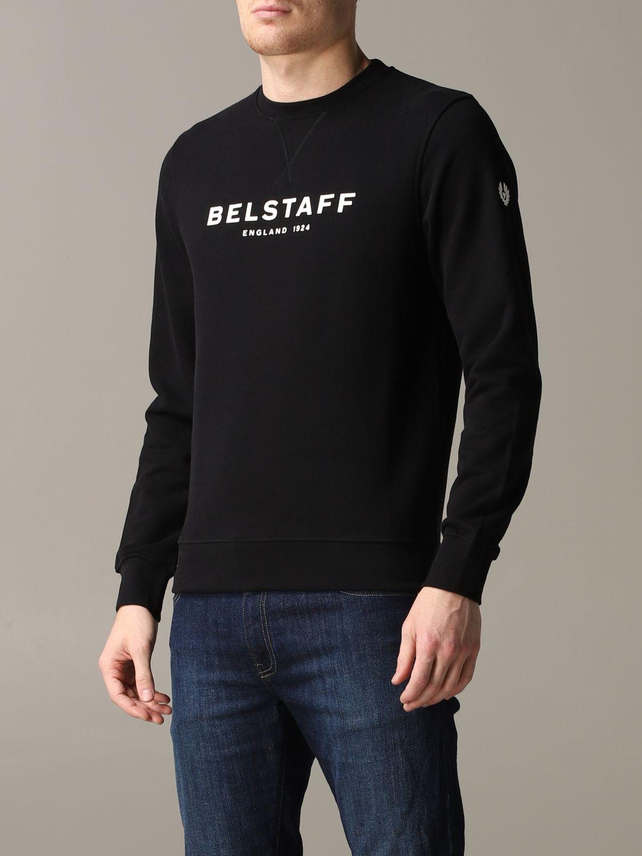 Sudadera hombre Belstaff negro 4