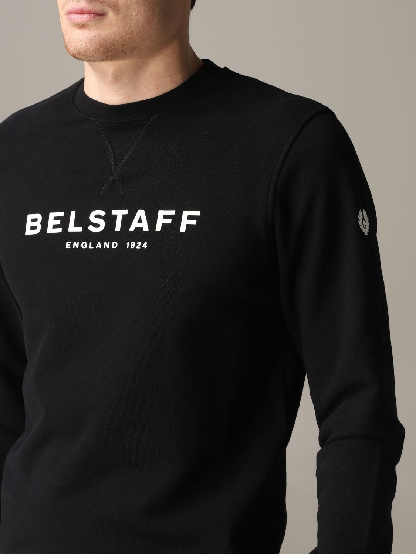 Sudadera hombre Belstaff negro 5