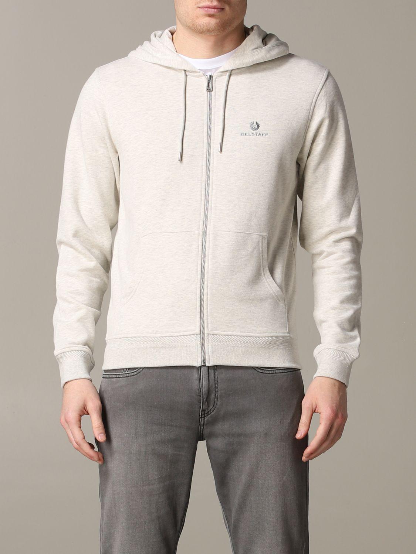 Sweatshirt homme Belstaff gris 1