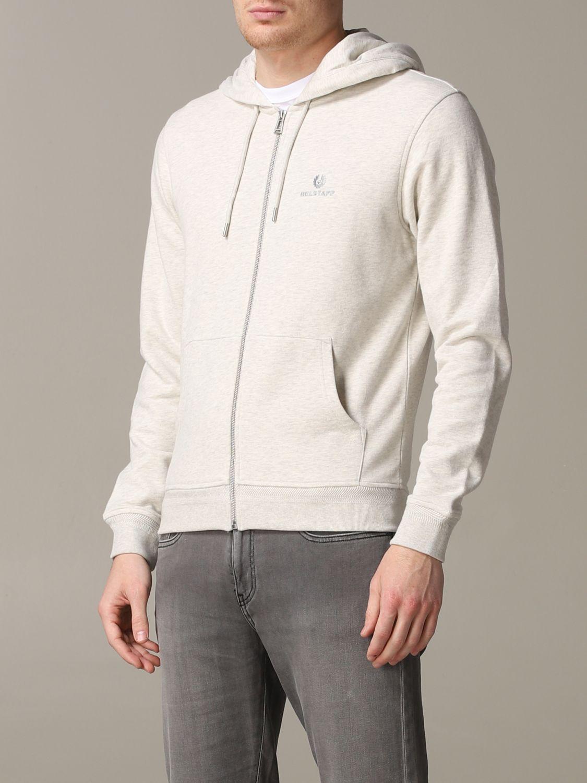 Sweatshirt homme Belstaff gris 4