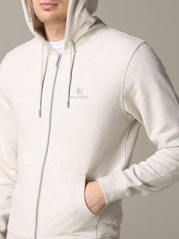 Sweatshirt homme Belstaff gris 5