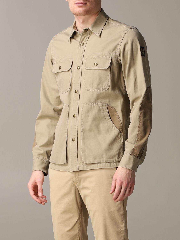 Shirt Belstaff: Shirt men Belstaff kaki 4
