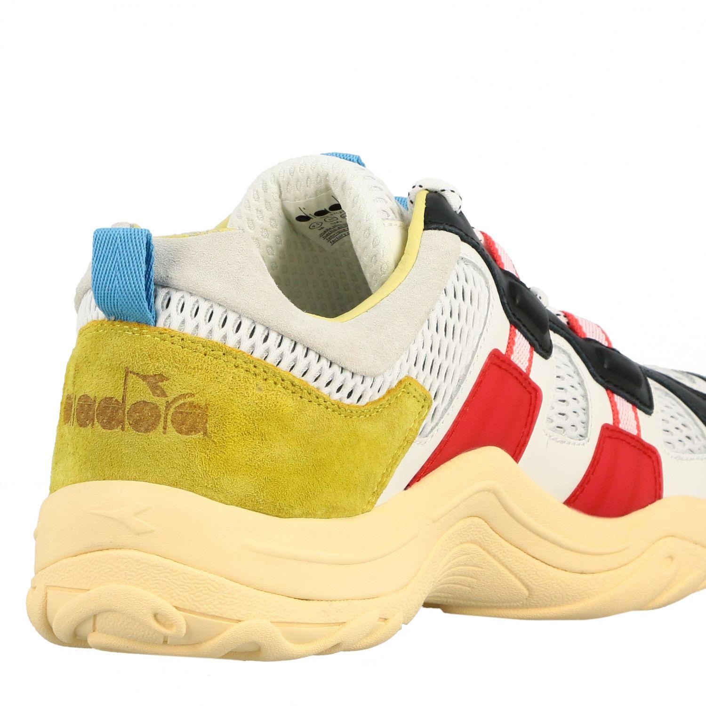Sneakers Diadora: Shoes men Diadora white 5