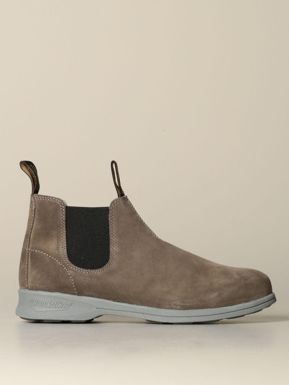 Stiefeletten Blundstone: Schuhe herren Blundstone taubengrau 1