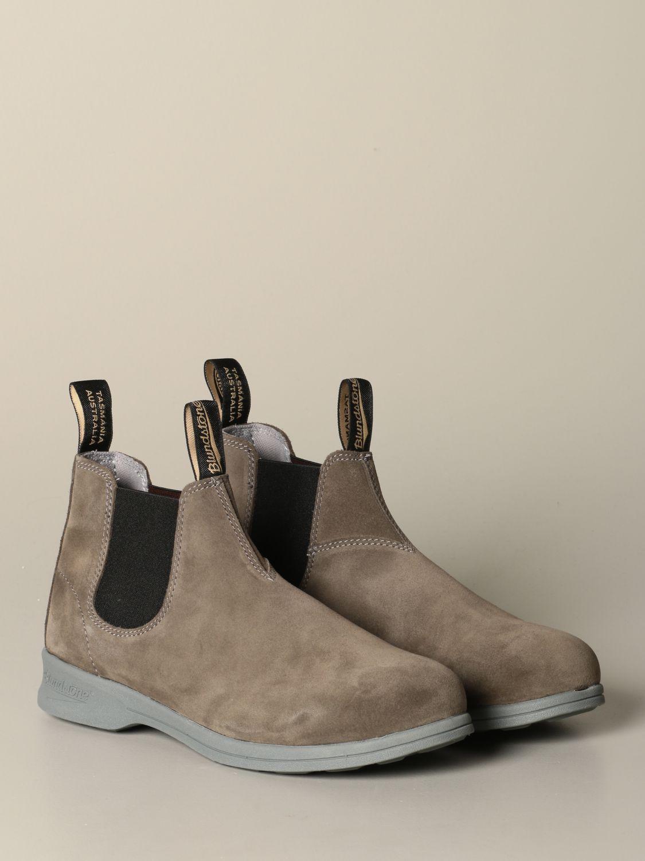 Stiefeletten Blundstone: Schuhe herren Blundstone taubengrau 2