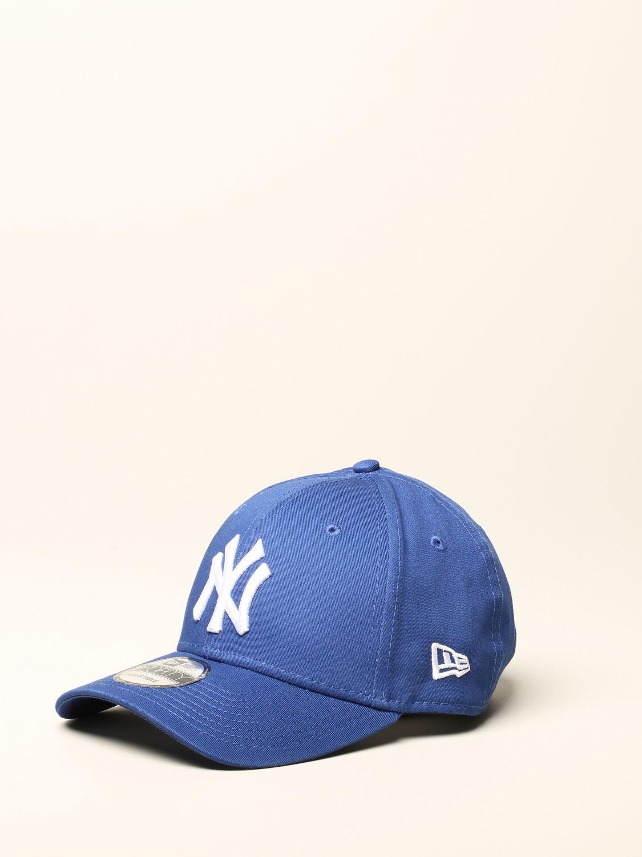 New Era Basic Cap mit NY Yankees Logo royal blue 3