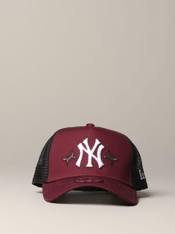 Hat men New Era burgundy 2