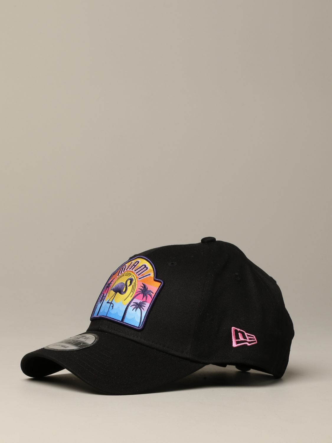 New Era Miami 9forty Adjustable cap USA Patch