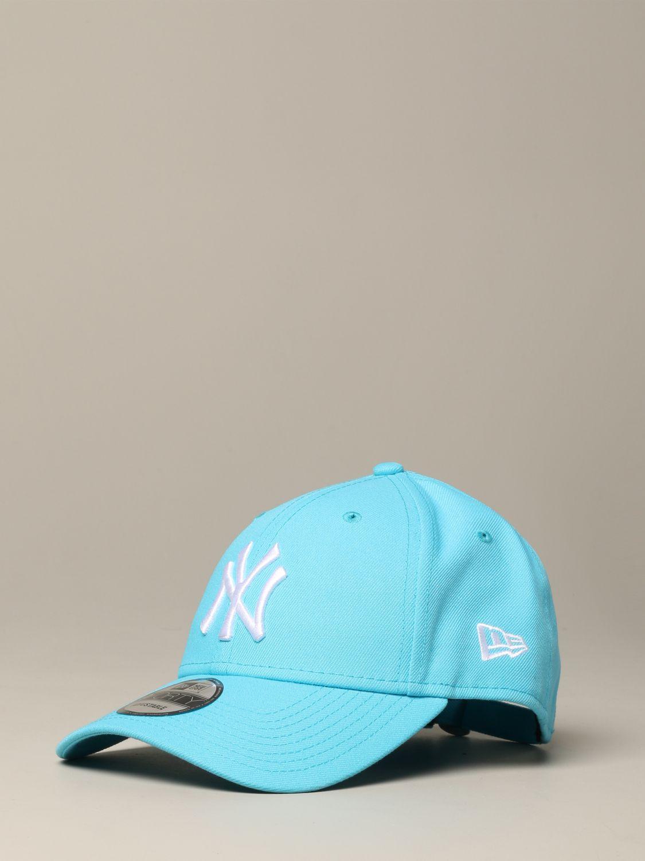New Era Q3 9forty Cap mit NY Yankees Logo hellblau 1