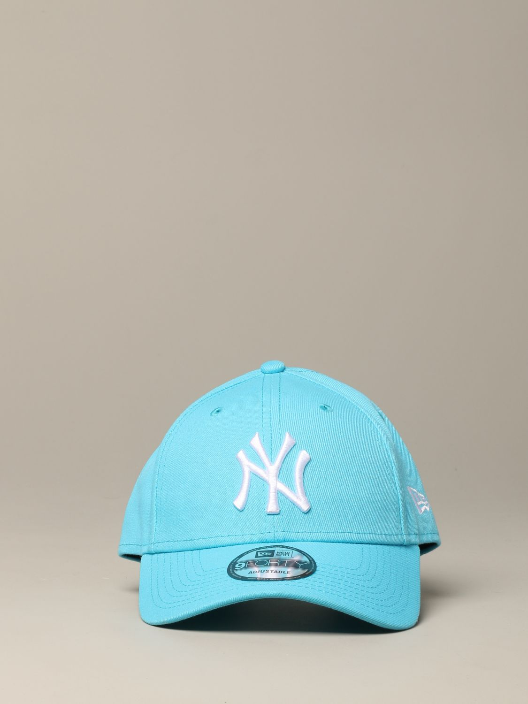 New Era Q3 9forty Cap mit NY Yankees Logo hellblau 2