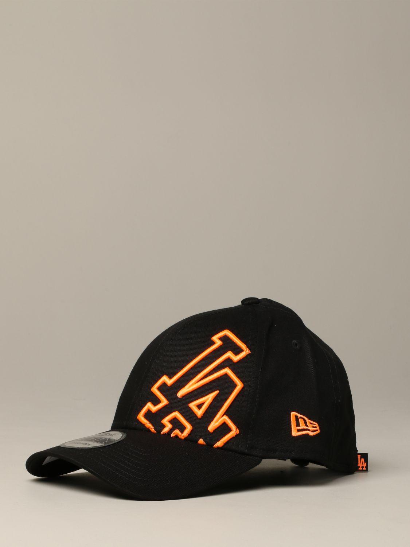 New Era O3 oversized LA Los Angels Logo Cap schwarz 1