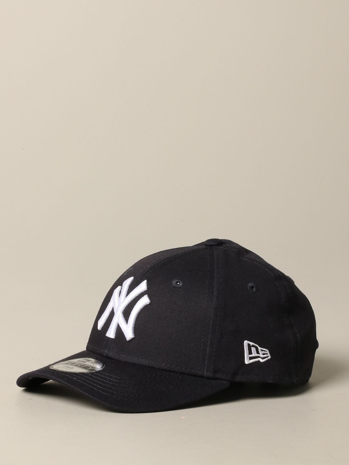 New Era Basic Cap mit NY Yankees Logo navy 1