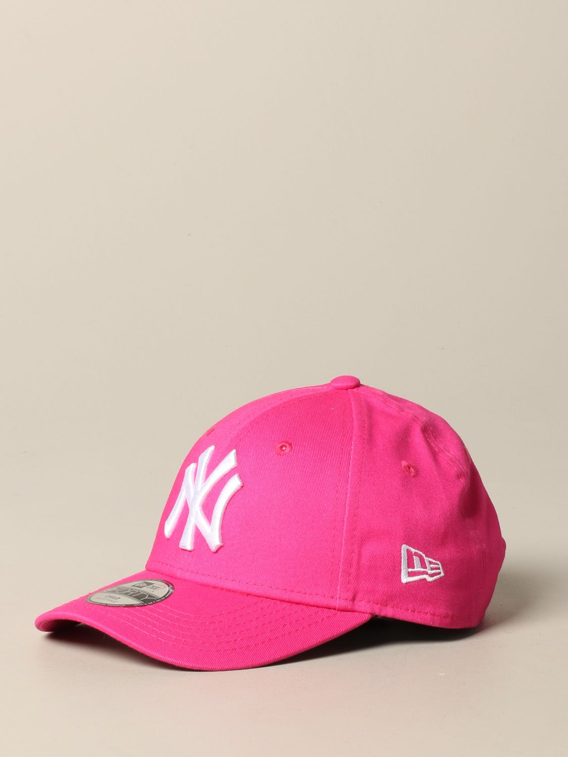 Hut New Era: New Era Basic Cap mit NY Yankees Logo pink 1