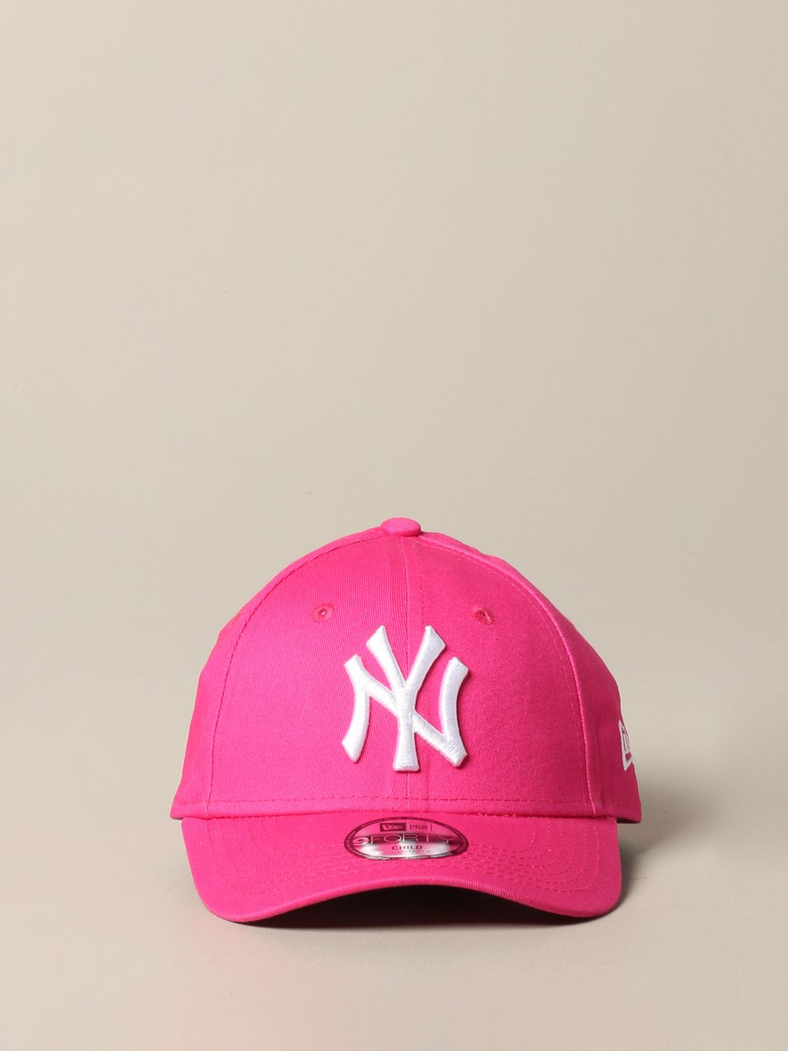 Hut New Era: New Era Basic Cap mit NY Yankees Logo pink 2