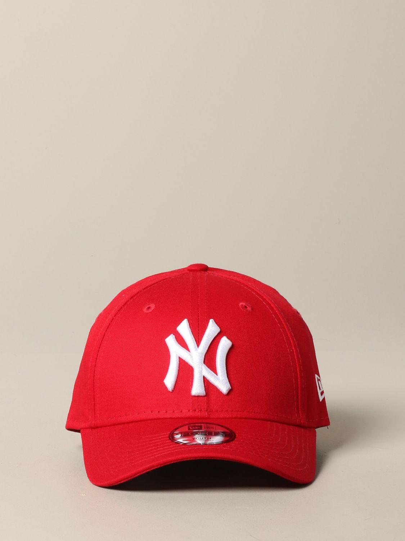 帽子 儿童 New Era 红色 2