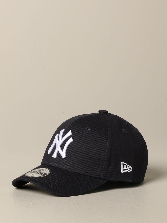 New Era Basic Cap mit NY Yankees Logo navy 1