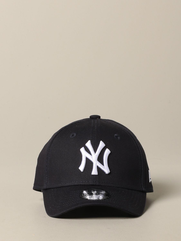 New Era Basic Cap mit NY Yankees Logo navy 2