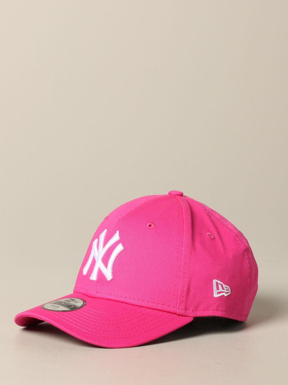 Hut New Era: New Era Basic Cap mit NY Yankees Logo pink 1